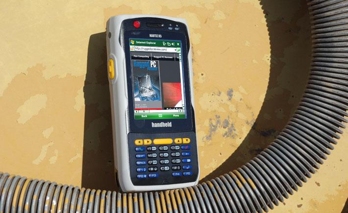 Rugged Pc Review Com Handhelds And Pdas Handheld Nautiz X5