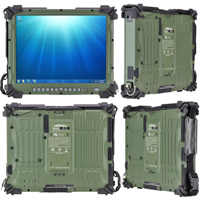 The DK10 Is A Fully Rugged Tablet Computer. It Measures 12.2 X 10.0 Inches  Inches