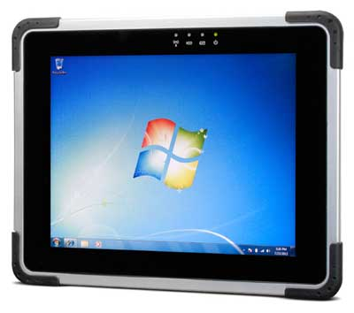 With This 9 7 Inch Rugged Tablet Dap Technologies Launched An Elegant Semi Windows Based That Is Clearly Geared Towards Users Attracted To
