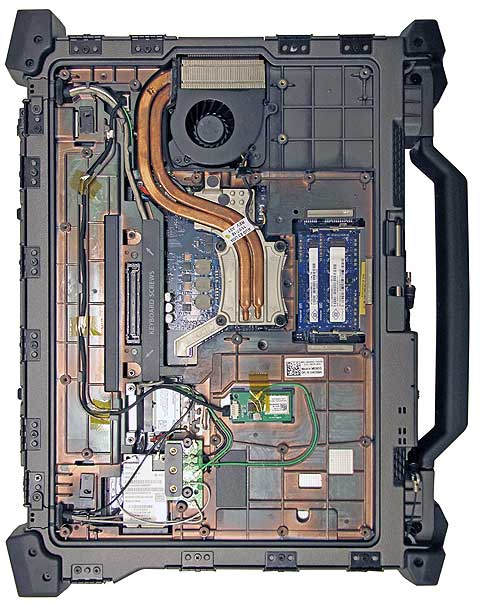 dell e6420 inside 480 - Dell ATG E6420 Rugged Military نظامی
