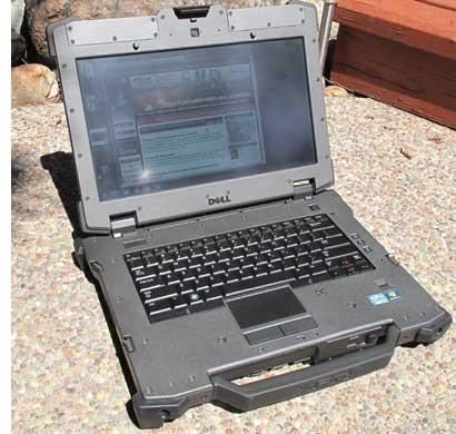 dell e6420 into sun 400 - Dell ATG E6420 Rugged Military نظامی