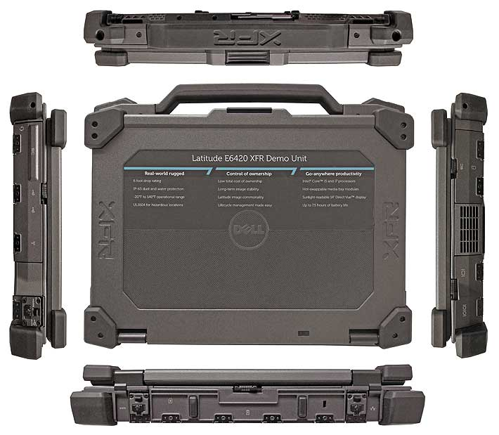 dell e6420 xfr all 710 - Dell ATG E6420 Rugged Military نظامی
