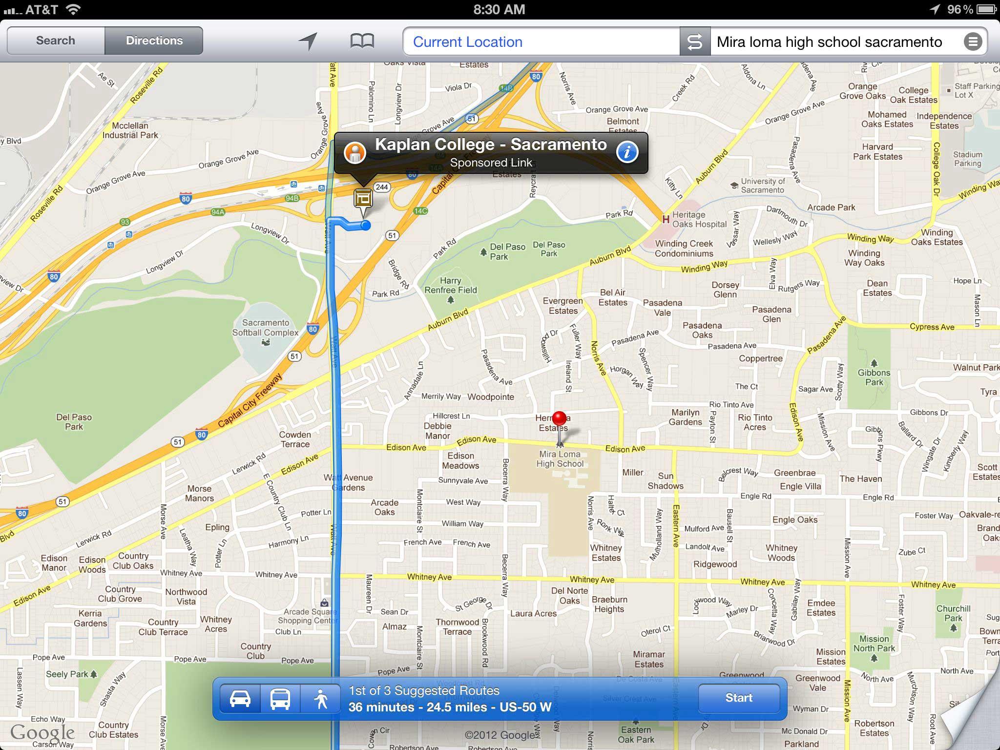 Куда ведёт планшет навигатор GPS.