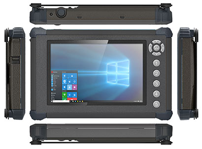 Rugged Tablet PCs: DT Research DT372AP