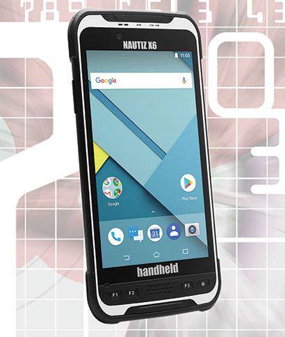 Handhelds and PDAs: Handheld Group Nautiz X6