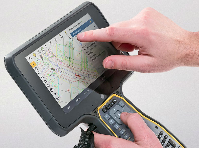 Rugged Pc Review Com Handhelds And Pdas Trimble Tsc7