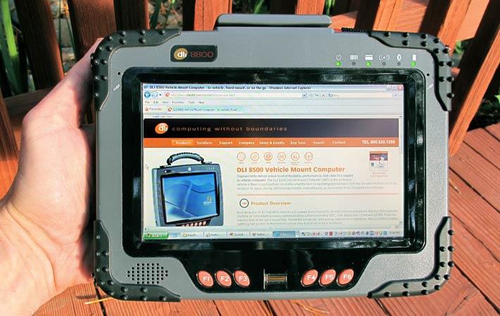 Rugged Pc Review Com Tablet Pcs Data Ltd Dli 8800