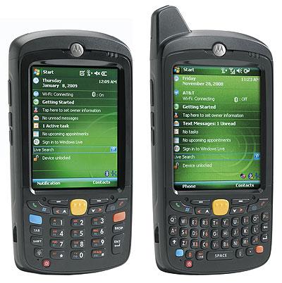 Rugged PC Review com - Handhelds and PDAs: Motorola MC55 Series