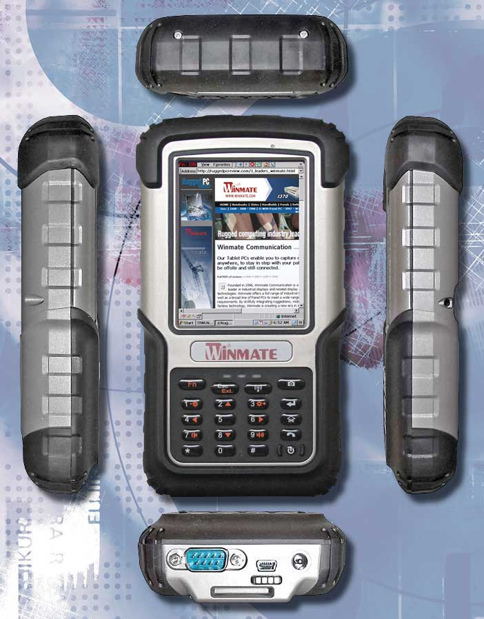 Winmate Designed The R03tach Handheld With An Absolute Minimum Of Hardware Controls And Ons In Order To Make It As Simple Possible Operate Under A