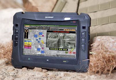 Rugged PC Review com - Rugged Tablets: Harris RF-3590