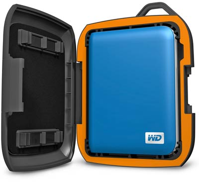 Rugged PC Review com - Peripherals: WD Nomad rugged case for Western