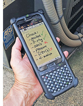Rugged PC Review com - Handhelds and PDAs: Two Technologies N4