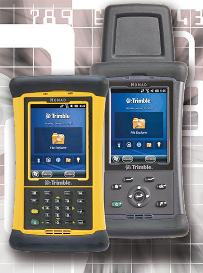 Rugged PC Review com - Handhelds and PDAs: Trimble Nomad 1050
