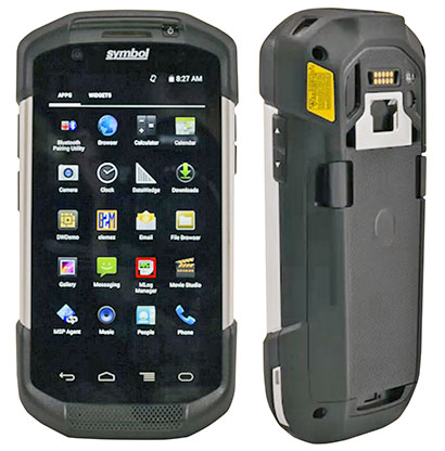 Rugged PC Review com - Handhelds and PDAs: Zebra TC75 Mobile
