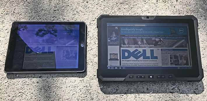 Rugged PC Review com - Rugged Notebooks: Dell 12 Rugged Tablet