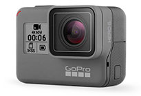 719c43b3a0e GoPro releases a new top-of-the-line action camera with the Hero6. It's the  same size as the Hero5 and looks the same, but can record 4k/60 and  1080p/240 ...