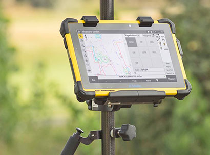 Rugged Pc Review Com Handhelds And Pdas Trimble T10