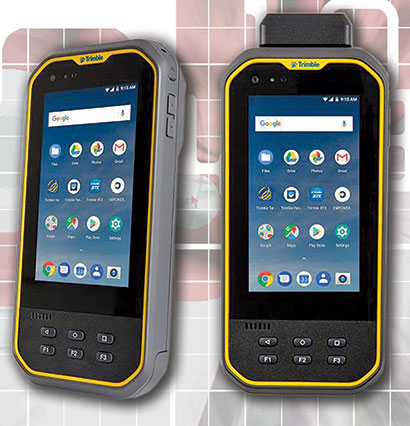 Rugged PC Review com - Handhelds and PDAs: Trimble Nomad 5
