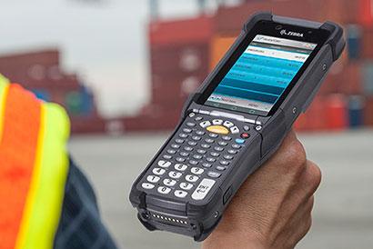 Handhelds and PDAs: Zebra MC9300